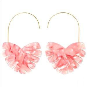 SUGARFIX by Baublebar Pink Heart Drop Earrings